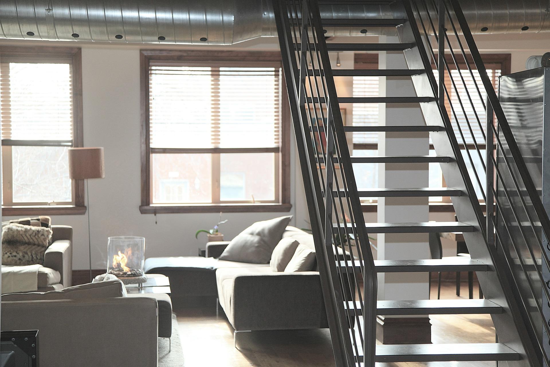 Stahltreppe nach Kundenwunsch